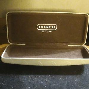 Coach sunglass hard case.